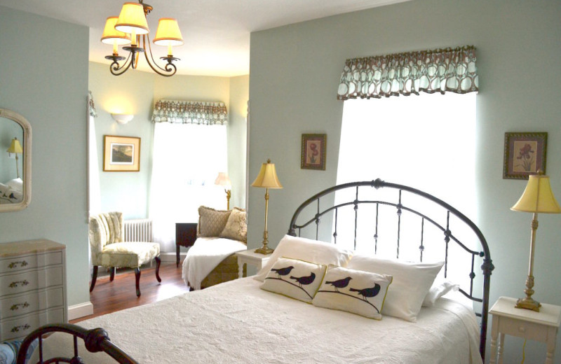 Guest room at The Bell House Inn.