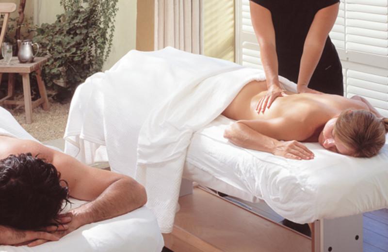 Couples massage at Hotel Healdsburg.