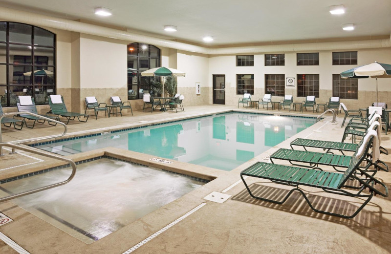 Indoor pool at Staybridge Suites Stow.