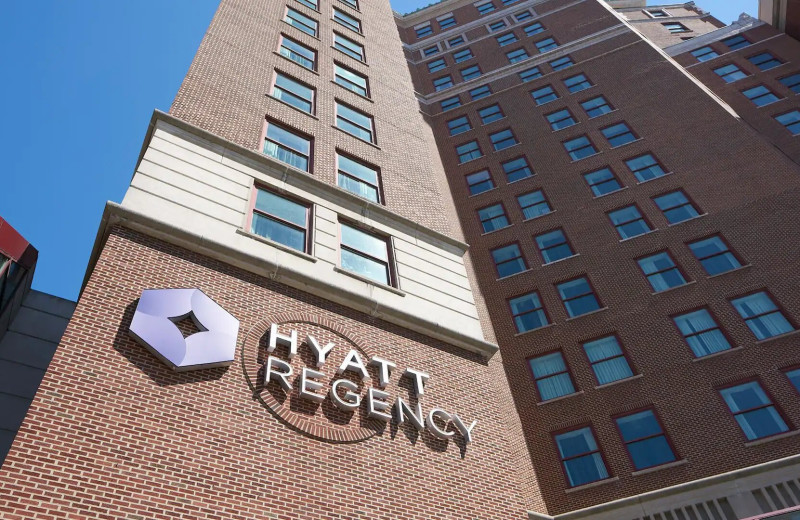 Exterior view of Hyatt Regency Buffalo/Hotel and Conference Center.