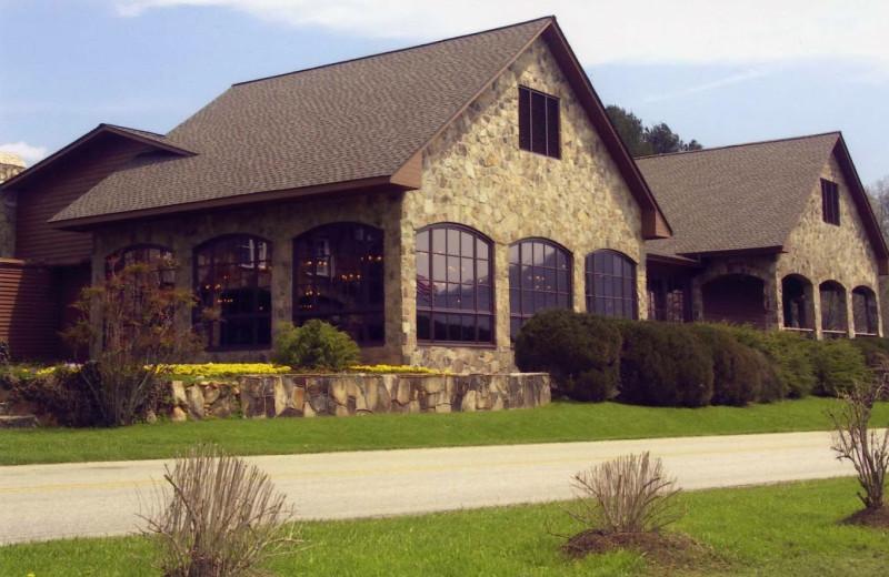 Exterior View Of Dillard House.