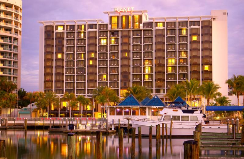 Exterior View of Hyatt Regency Sarasota