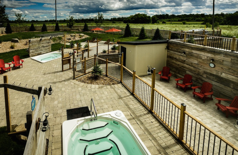 Hot tubs at Strathmere Retreat & Spa.