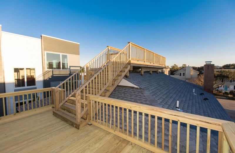 Rental deck at Atkinson Realty.