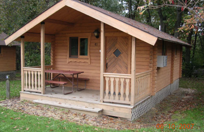 Cabin Rental at Baraboo Hills Campground