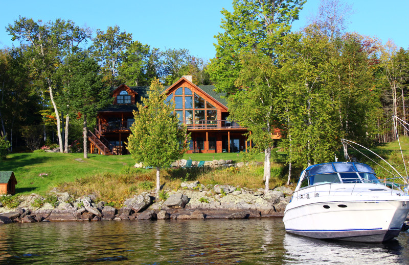 Exterior view at The Birches Resort.