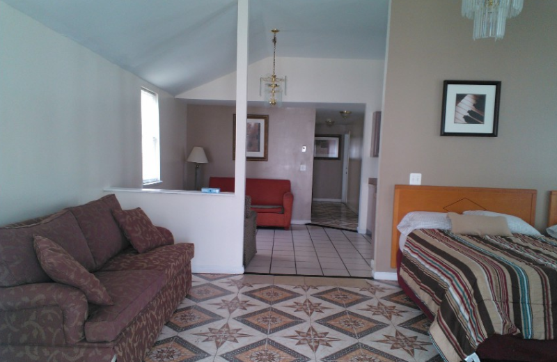 127 Carteret apartment interior at Seaside Heights Apartments.