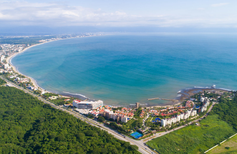 Aerial view of La Isla - Casa del Mar.
