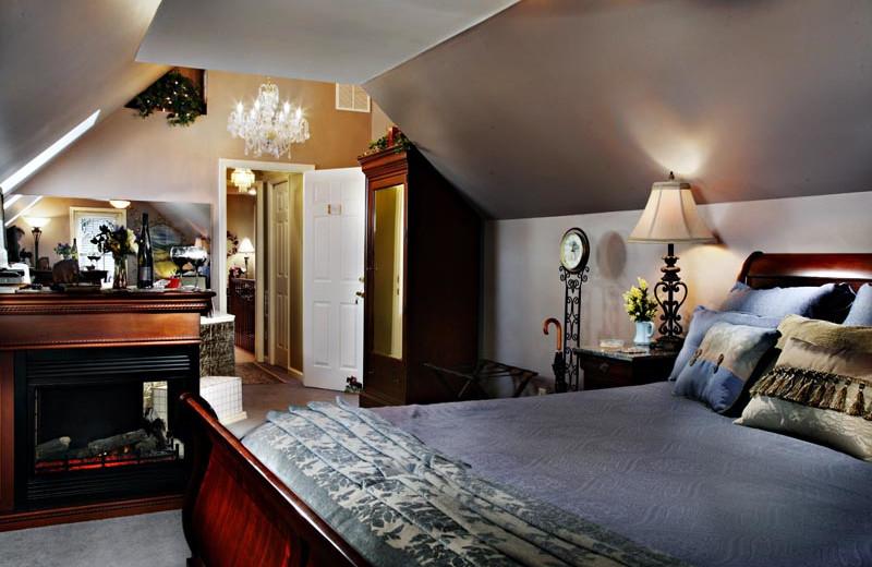 Guest room at Annville Inn.