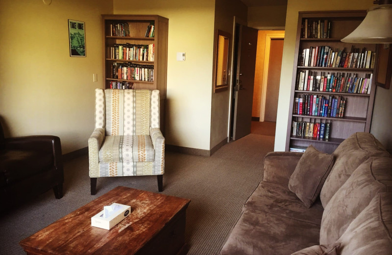 Library at Red Tree Lodge.
