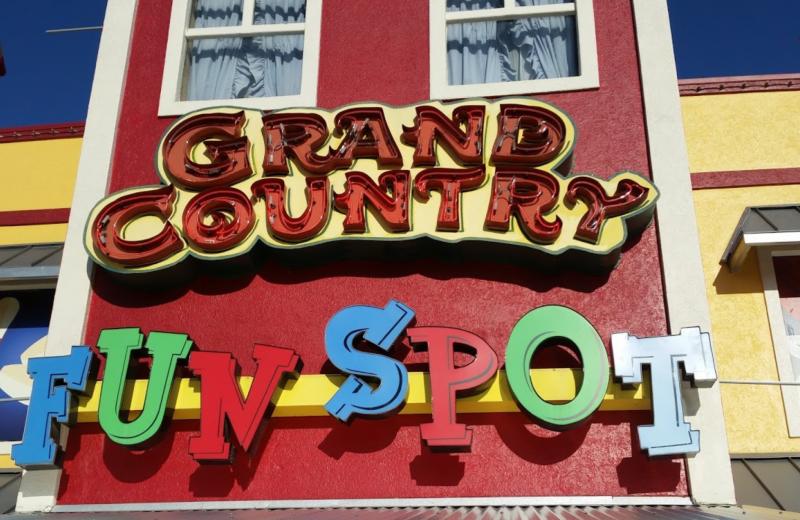 Grand Country Fun spot near Rockwood Resort.