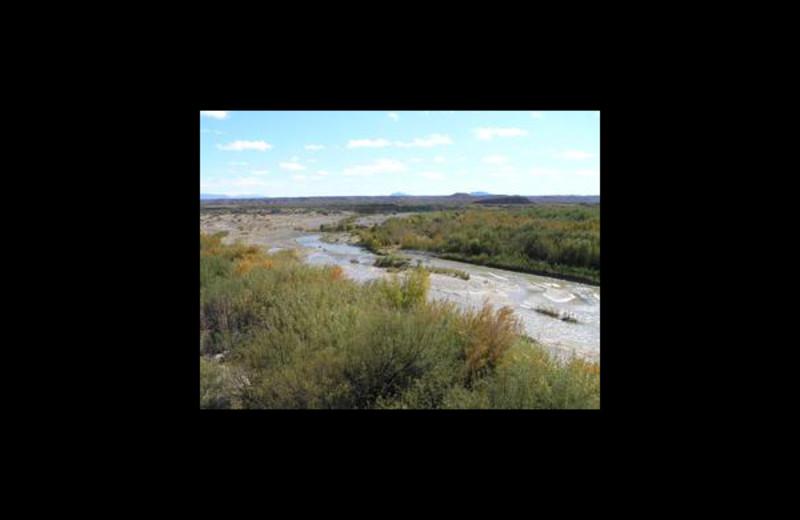 River near at Big Bend Resort & Adventures.