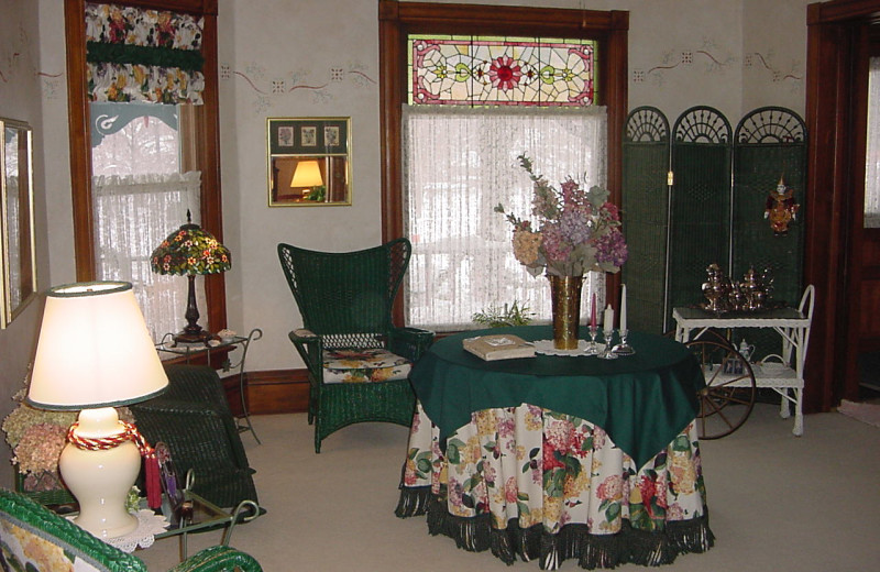 Interior view of Three Gables Inn B & B.