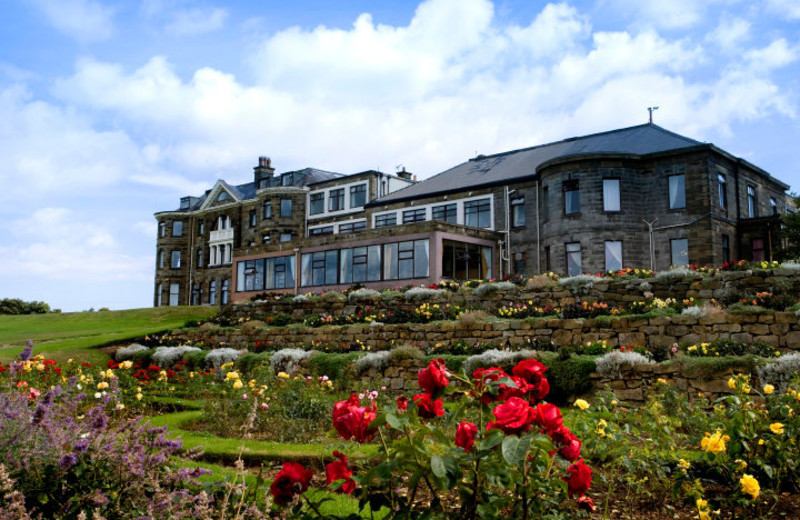 Exterior view of Raven Hall Country Hotel & Golf Course.