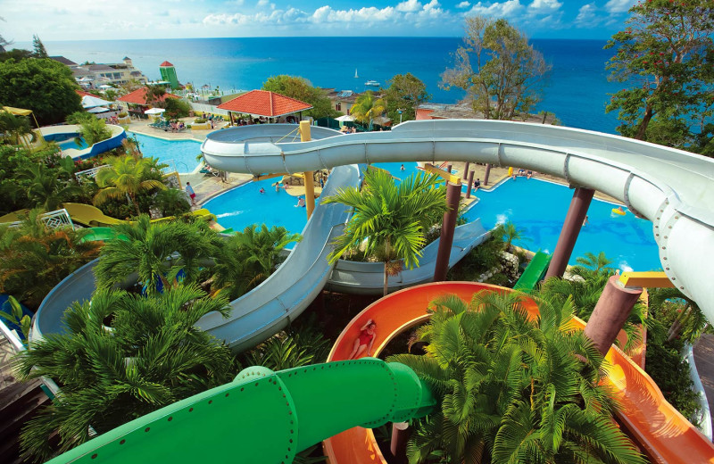 Water park at Beaches Boscobel Ultra- All Inclusive.
