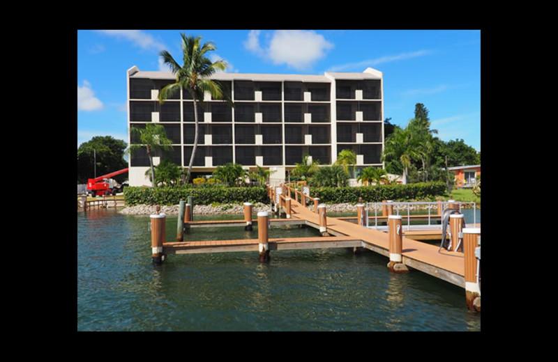 Exterior view of Sunrise Bay Resort & Club Condominium.