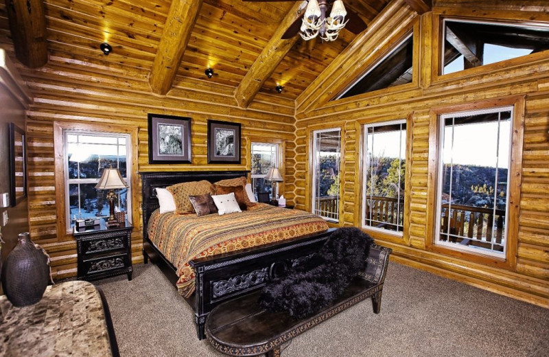 Bedroom at Bryce Canyon Estate.