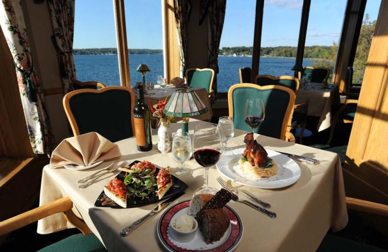 Dining at The Geneva Inn.