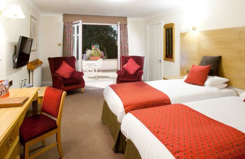Guest room at Appleby Manor.