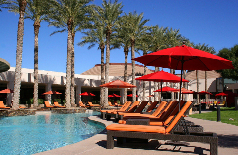 Outdoor pool at Harrah's Ak-Chin Casino Resort.