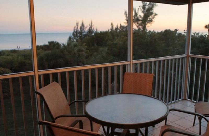 Balcony view at Tortuga Beach Club Resort.
