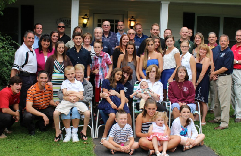 Family reunions at The Thompson House.