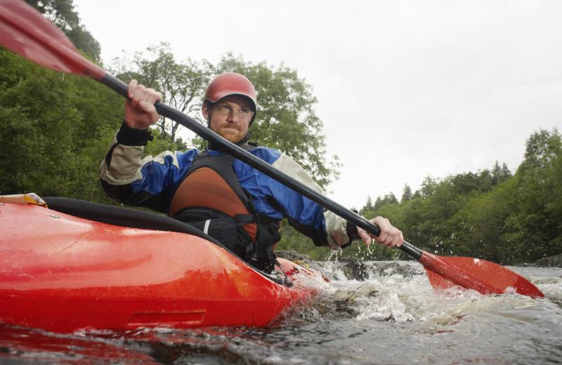 Kayaking near Olde Rhinebeck Inn.