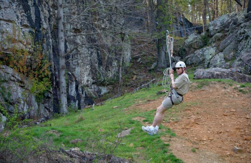 Zip Line at Horseshoe Canyon Ranch