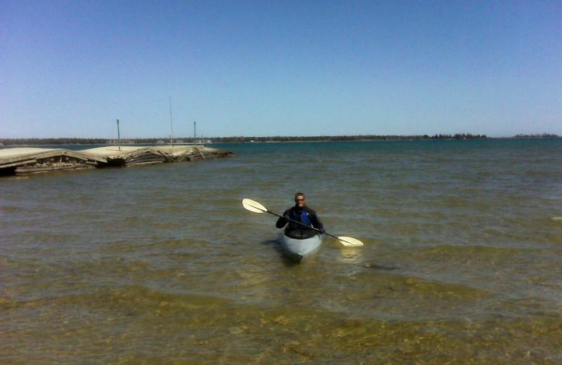 Kayaking at Beachfront Inn