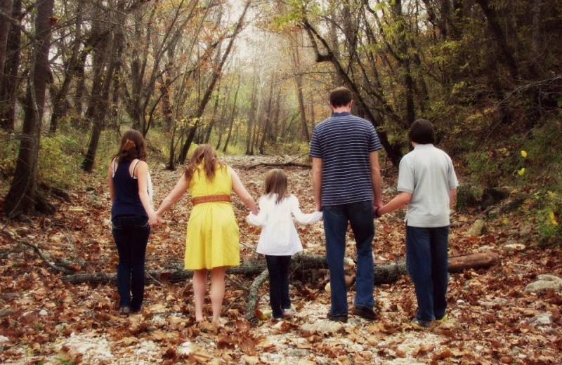 Family at Riverwood Resort.