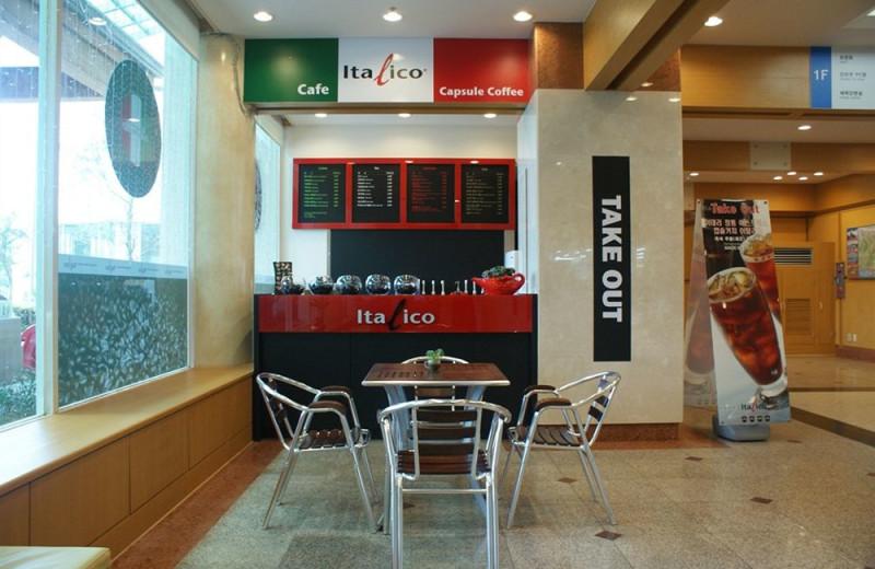Cafe at Sorak Kumho Resort.