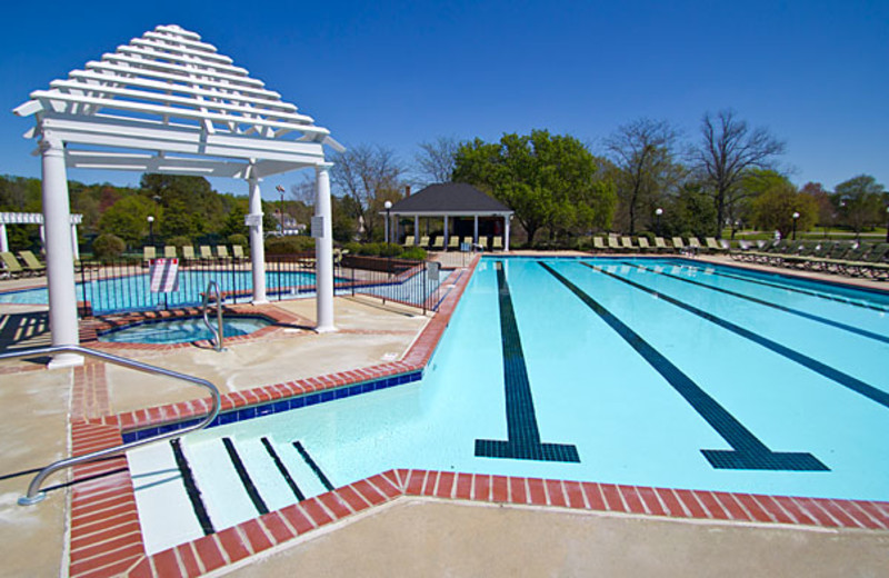 Outdoor Swimming Pool at The Historic Powhatan Resort