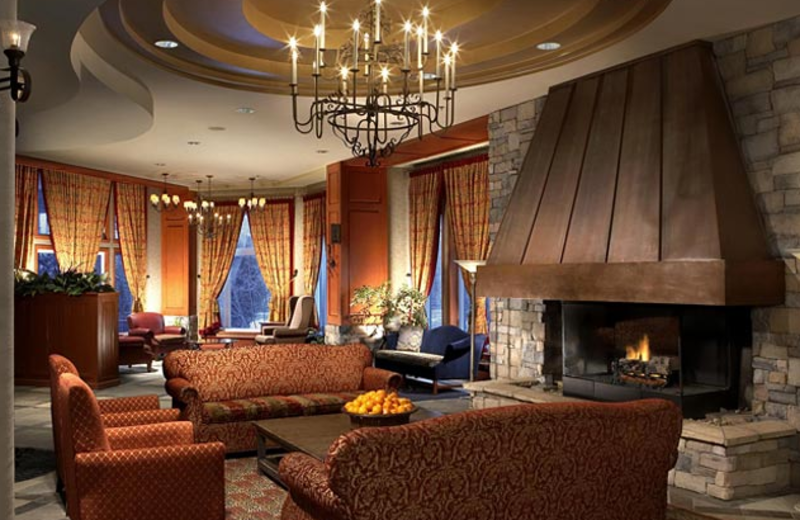 Lounge at Cap Tremblant Mountain Resort.