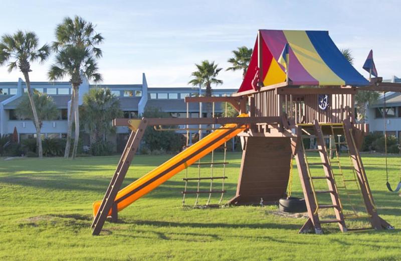 Playground at Sunnyside Beach & Tennis Resort.