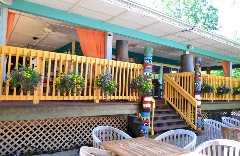 Restaurant at St. Hazards Resort.