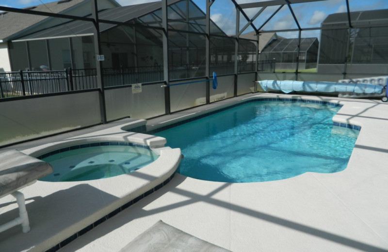 Rental pool at Florida Palms Vacation Villas