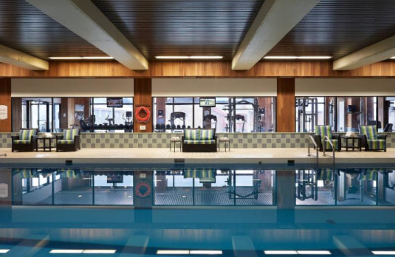 Indoor pool at Delta Prince Edward Island.