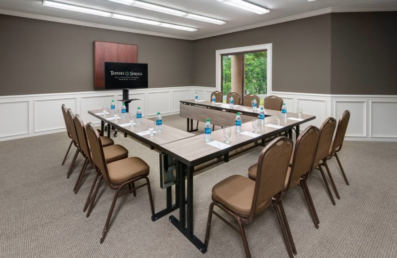 Meeting room at Tapatio Springs Hill Country Resort.