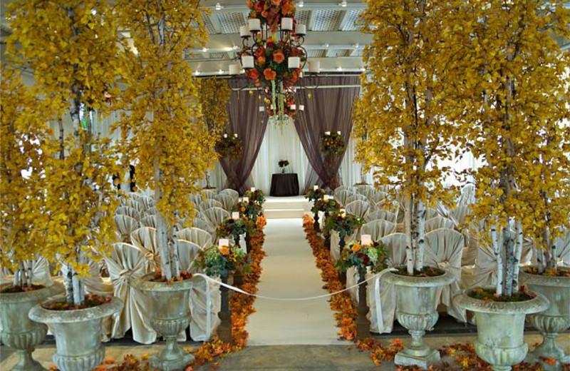 Wedding Ceremony at JW Marriott Denver