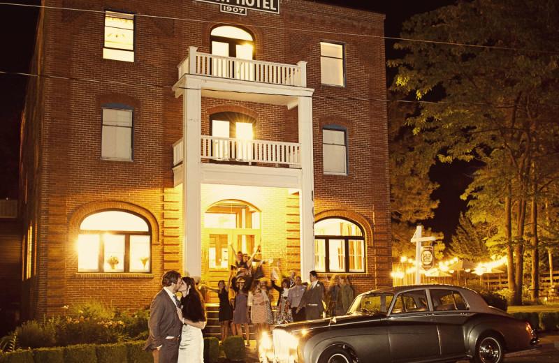Weddings at Balch Hotel.