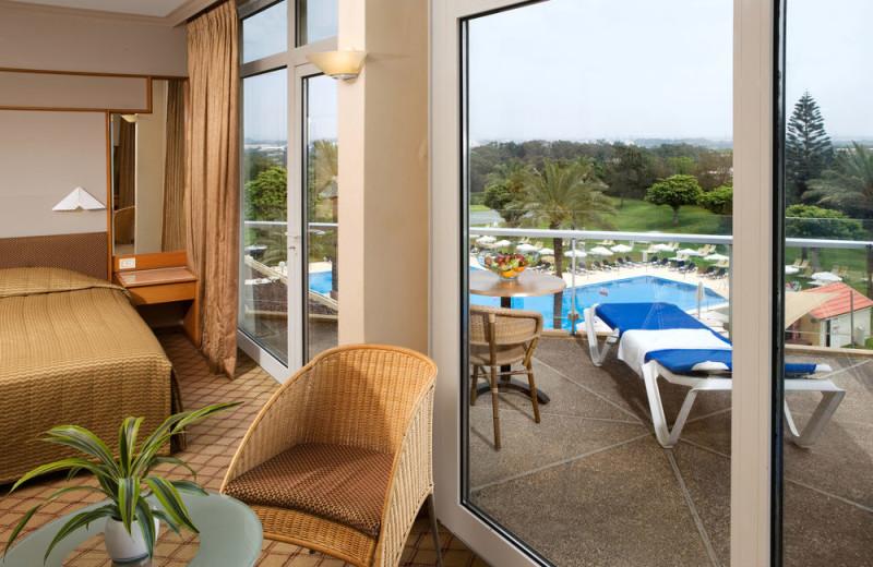 Guest room at Dan Caesarea.