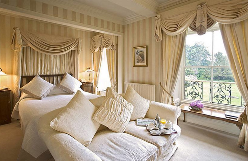 Guest room at Lovelady Shield Country House Hotel.