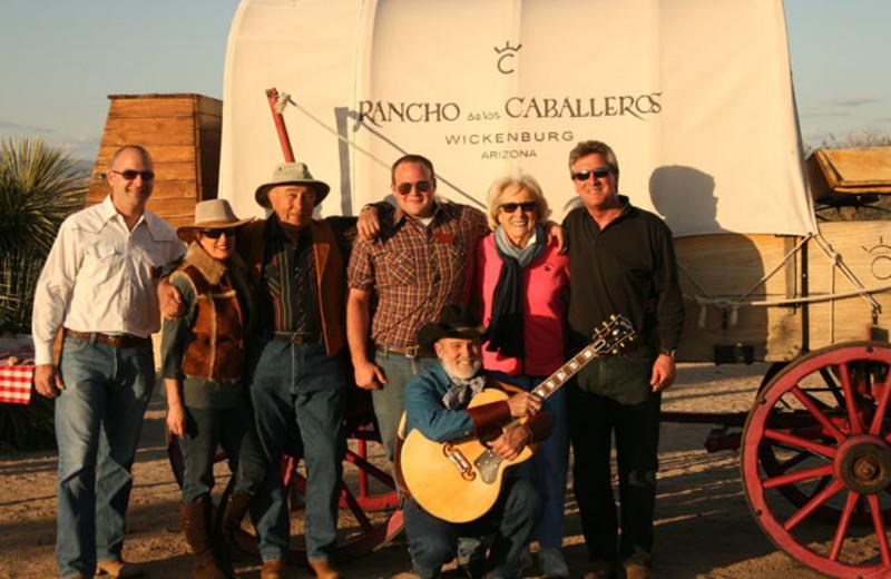 Group at Rancho De Los Caballeros.