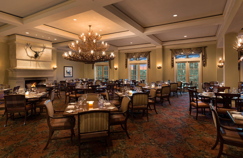 Dining at Hyatt Regency Hill Country Resort and Spa.