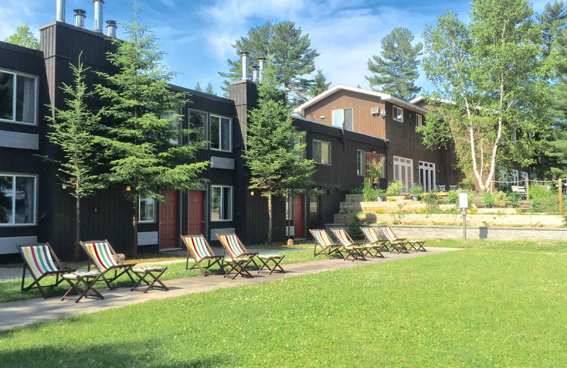 Exterior view of Northridge Inn & Resort.
