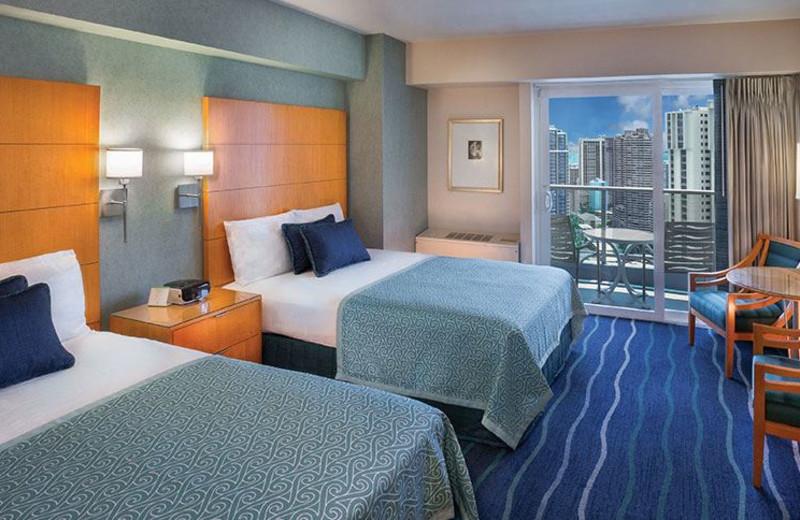 Guest Room at Ala Moana Hotel