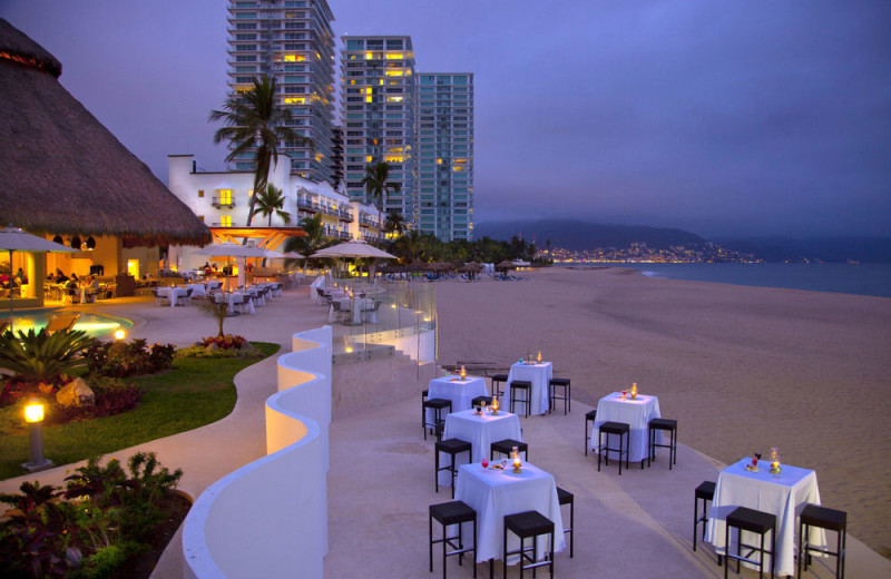 Dining at Krystal Vallarta.