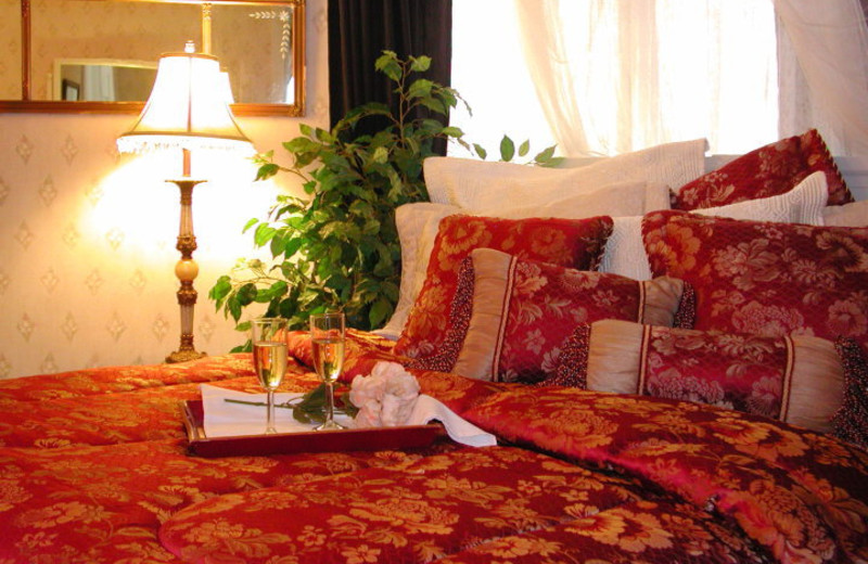 Guest room at Julian Gold Rush Hotel Bed and Breakfast.