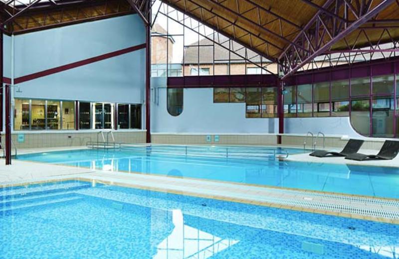 Pool at Waltham Abbey Marriott Hotel.