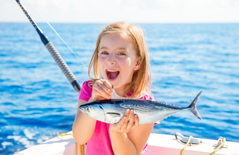 Fishing at Carroll Villa.